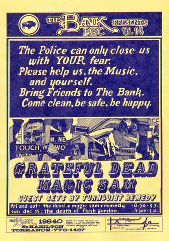 Grateful DeadHandbill