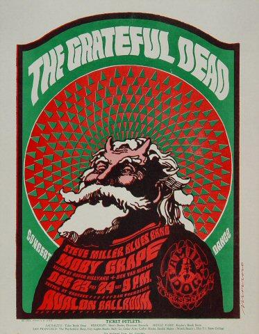 The Steve Miller Blues Band Handbill