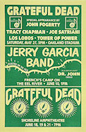 Grateful Dead Handbill
