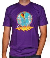 Bela Fleck & The Flecktones Men's Retro T-Shirt
