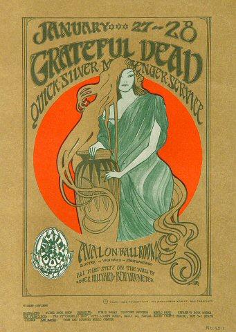 Grateful DeadPostcard