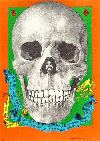 Grateful Dead Postcard