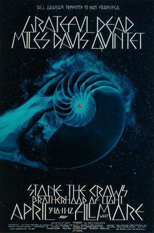 Miles Davis Quintet Poster