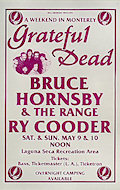 Bruce Hornsby and the Range Poster