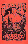 Grateful Dead Program