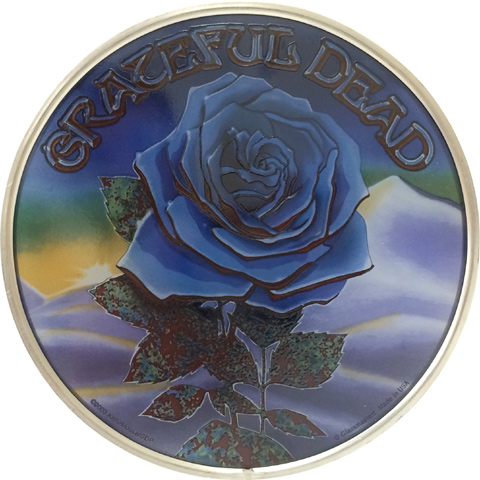 Grateful Dead Stained Glass