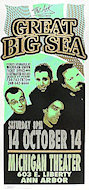 Great Big Sea Poster