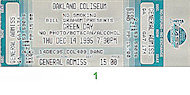 Green Day Vintage Ticket