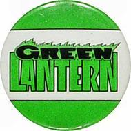 Green Lantern Vintage Pin