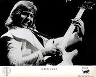 Greg Lake Promo Print