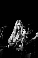 Gregg Allman Fine Art Print