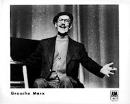 Groucho Marx Promo Print