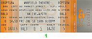 GTR 1980s Ticket