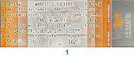 GTR Vintage Ticket