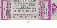 GWAR 1990s Ticket