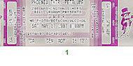 GWAR Vintage Ticket