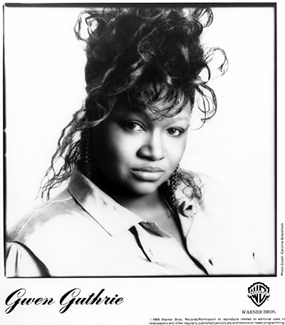 Gwen Guthrie Promo Print