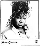 Gwen Guthrie Promo Print