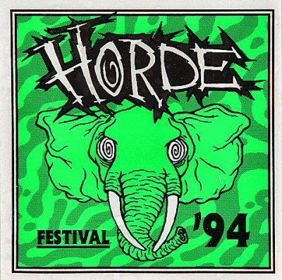 H.O.R.D.E. Festival 1994Sticker