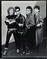 Hagar, Schon, Aaronson, Shrieve Promo Print