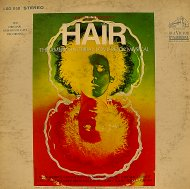 "Hair, The American Tribal Love-Rock Musical Vinyl 12"" (Used)"