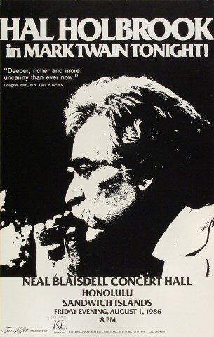 Hal Holbrook Poster