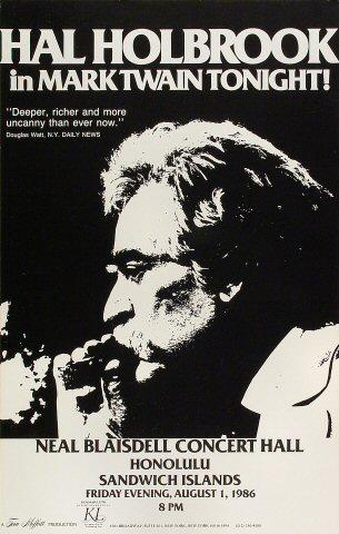 Hal Holbrook Poster