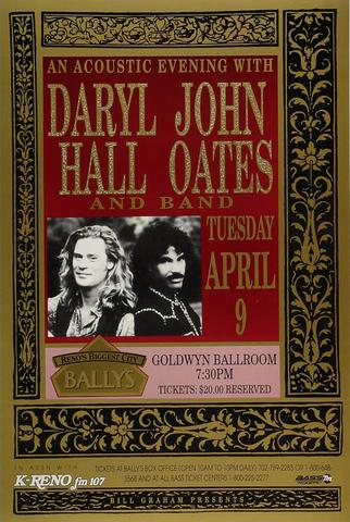 Hall &amp; Oates Poster