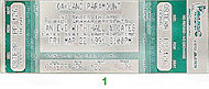 Hall & Oates Vintage Ticket