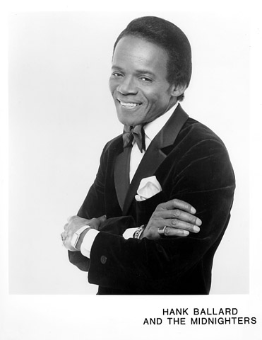 Hank Ballard & the Midnighters Promo Print