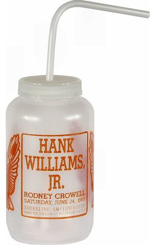 Hank Williams Jr. H2O Bottle