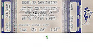The Charlie Daniels Band Vintage Ticket