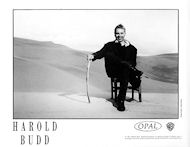 Harold Budd Promo Print