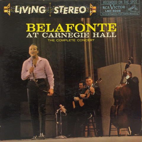 Harry Belafonte Vinyl (Used)