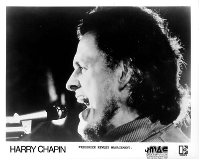 Harry Chapin Promo Print