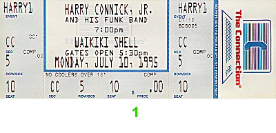 Harry Connick Jr.1990s Ticket