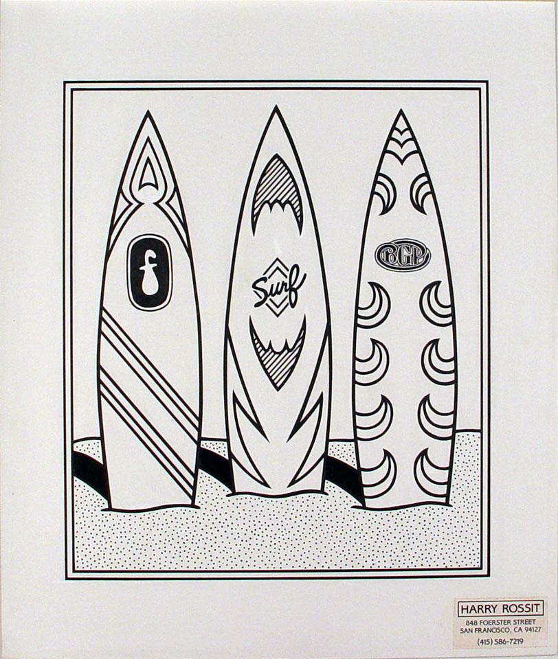 Harry Rossit Original Art