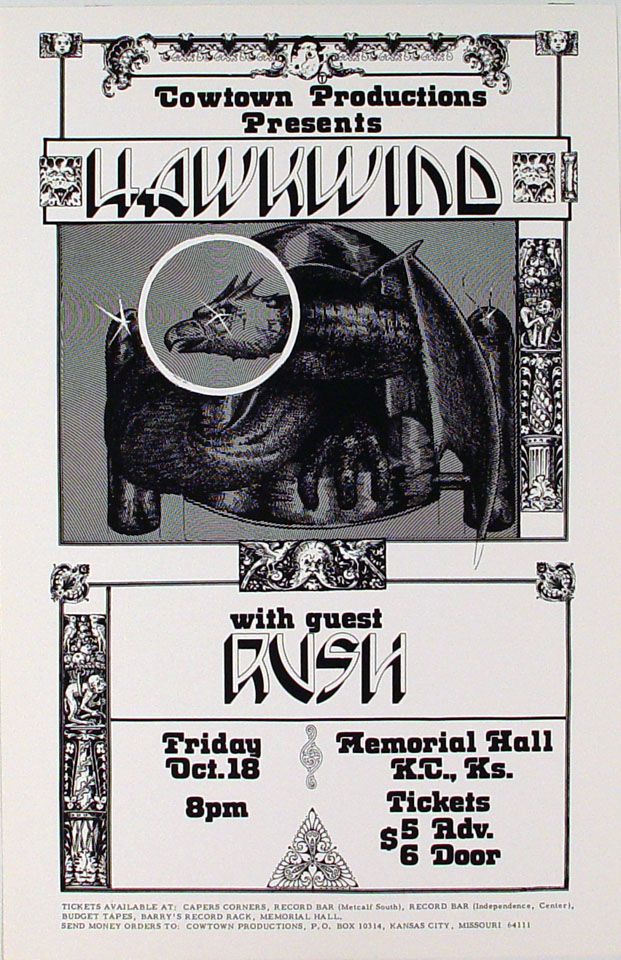 Hawkwind Poster