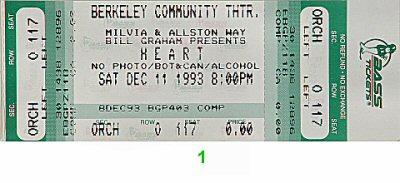 Heart1990s Ticket