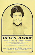 Helen Reddy Handbill