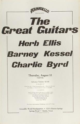 Herb Ellis Poster