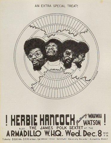 Herbie Hancock Handbill