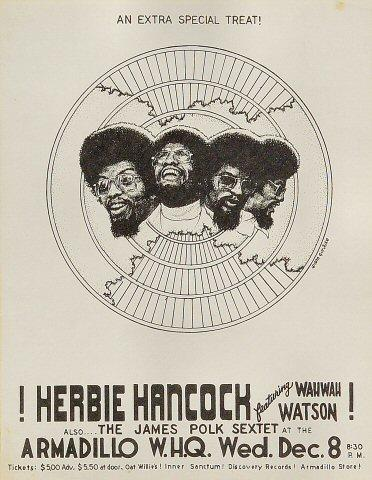 Herbie Hancock Handbill