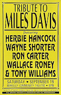 Tony Williams Poster