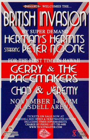 Herman's Hermits Handbill