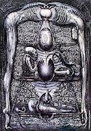 Hieroglyphen Poster