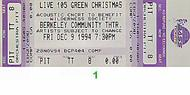 Love Spit Love 1990s Ticket