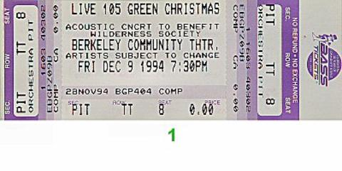 Hole Vintage Ticket
