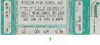 Holly Near1990s Ticket