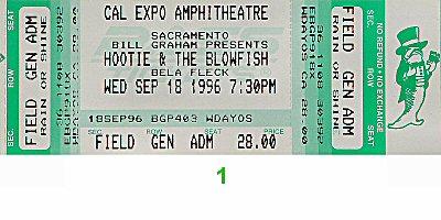 Hootie & the Blowfish1990s Ticket